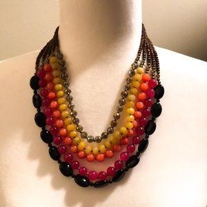 Kitson LA - Multicolored Statement Necklace